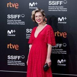 Mercedes Morán en el Festival de Cine de San Sebastián de 2018
