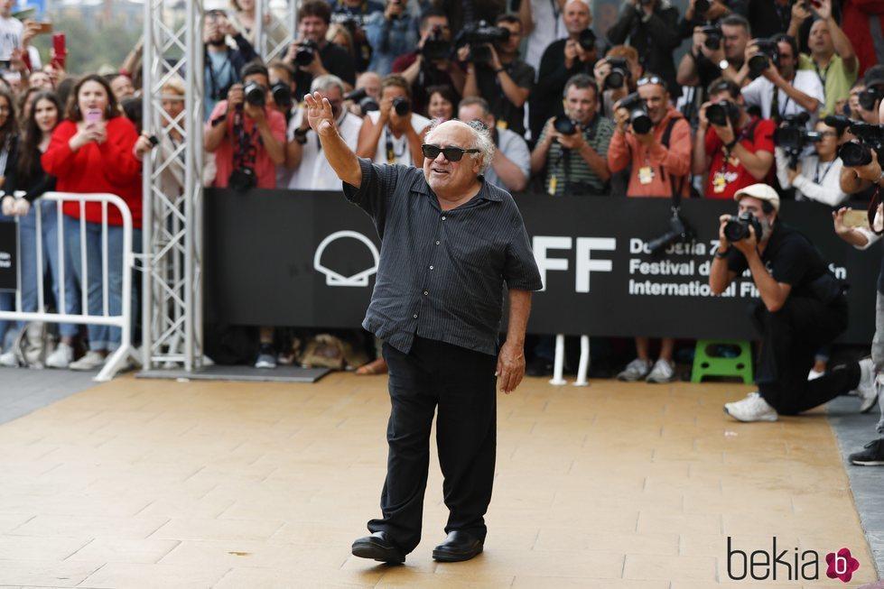 Danny DeVito en el Festival de Cine de San Sebastián de 2018