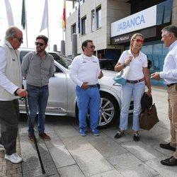 La Infanta Elena y el Rey Juan Carlos en Palma de Mallorca para participar en las regatas