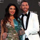 Pilar Rubio y Sergio Ramos en los premios The Best FIFA 2018