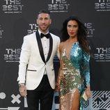 Sergio Ramos y Pilar Rubio, deslumbrantes en los Premios The Best FIFA 2018