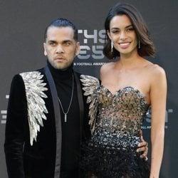 Dani Alves y Joana Sanz en la gala de los premios The Best FIFA 2018