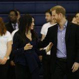 Meghan Markle y el Príncipe Harry, muy cómplices en la entrega de los premios Coach Core
