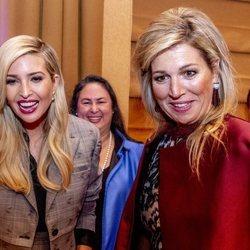 Ivanka Trump y Maxima de Holanda, juntas en un evento en Nueva York