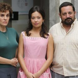 Anna Castillo durante la presentación de la 3º temporada de 'Amar es para siempre'