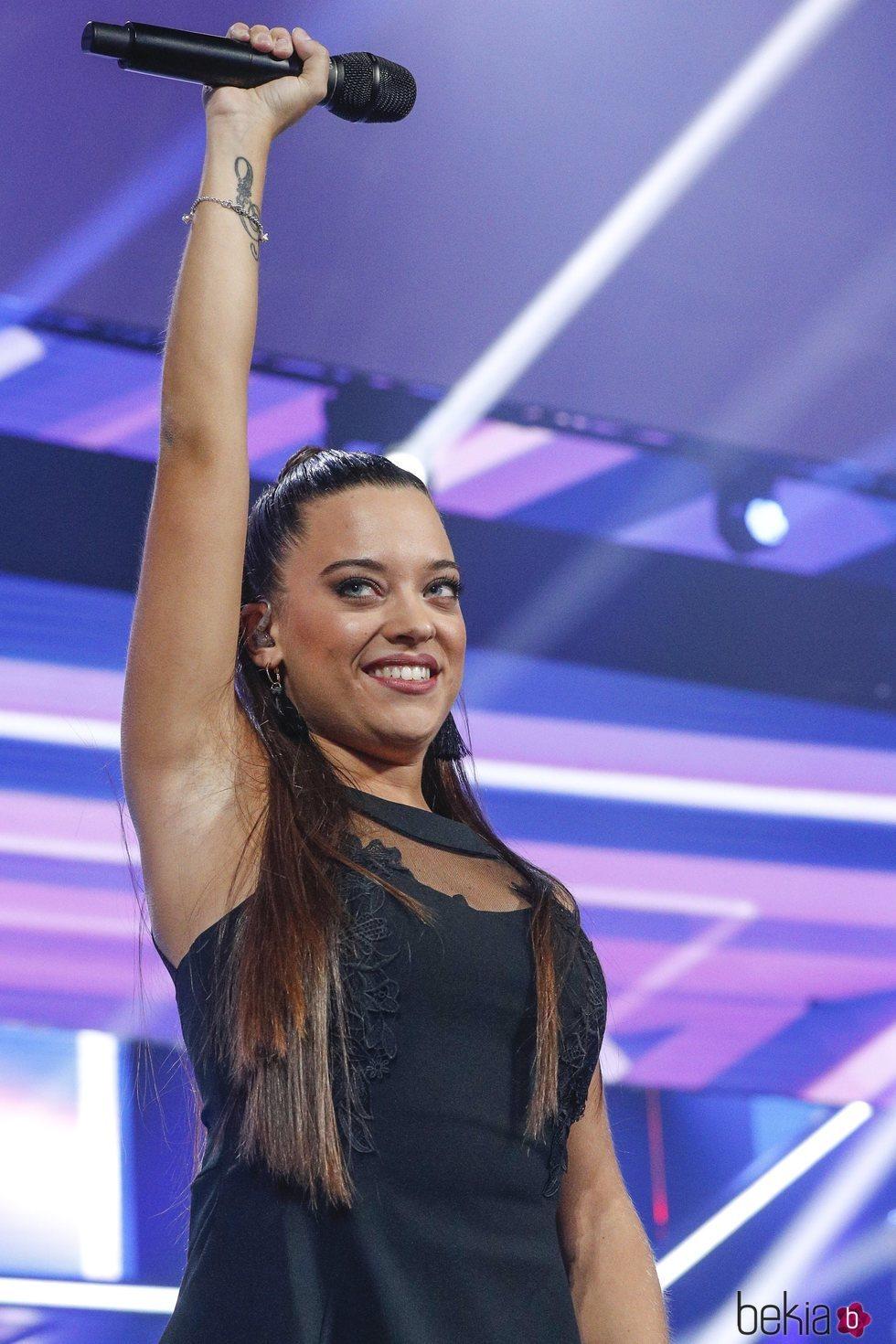 Noelia durante la Gala 1 de 'OT 2018'
