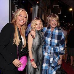 Belén Esteban, Eugenia Martínez de Irujo y Mila Ximénez en los premios Chicote 2018
