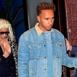 Lewis Hamilton y Nicki Minaj juntos en Nueva York