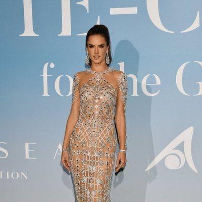 Alessandra Ambrosio en la Gala Global Ocean 2018 de la Fundación Príncipe Alberto II de Mónaco
