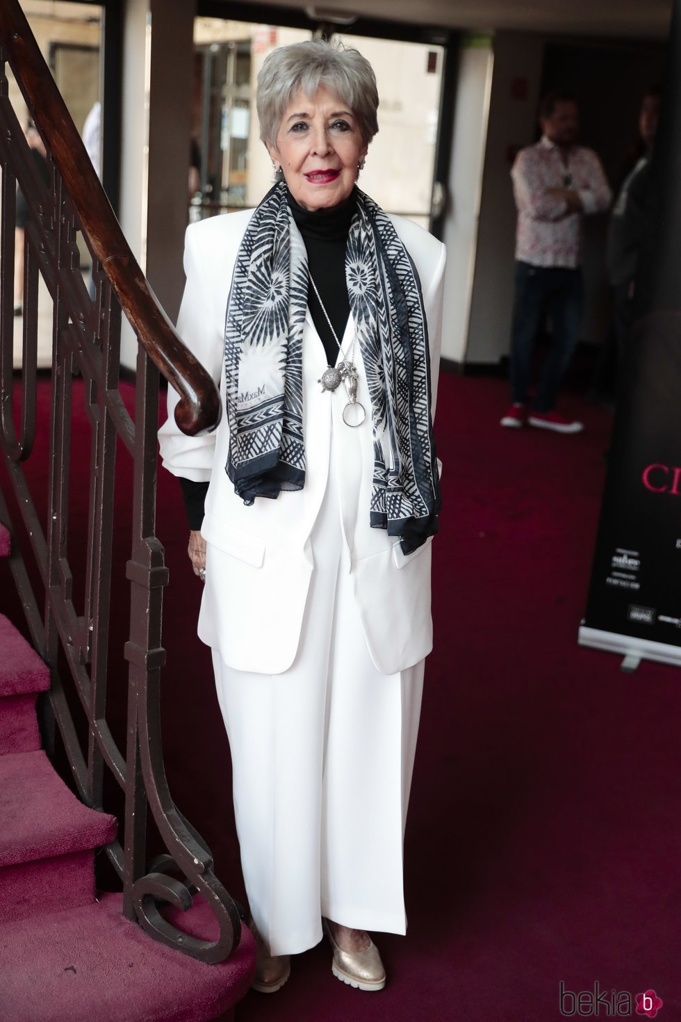 Cocha Velasco en un evento en el Teatro de La Latina
