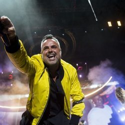 Juan Magán en el concierto de Los 40 Primavera Pop en Madrid