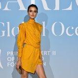 Blanca Padilla en la Gala Global Ocean 2018 de la Fundación Príncipe Alberto II de Mónaco
