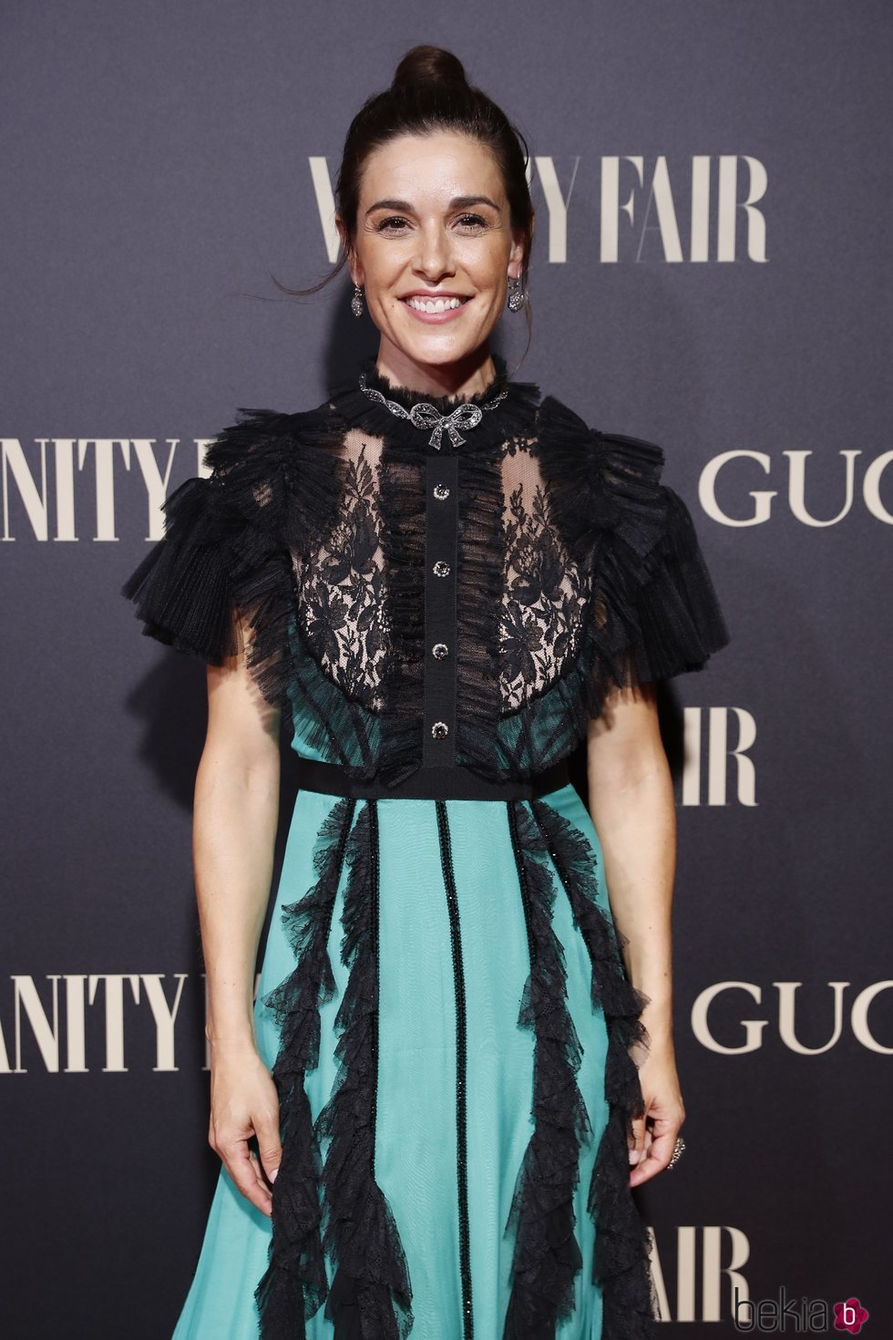 Raquel Sánchez Silva en la alfombra de la fiesta de Vanity Fair 2018