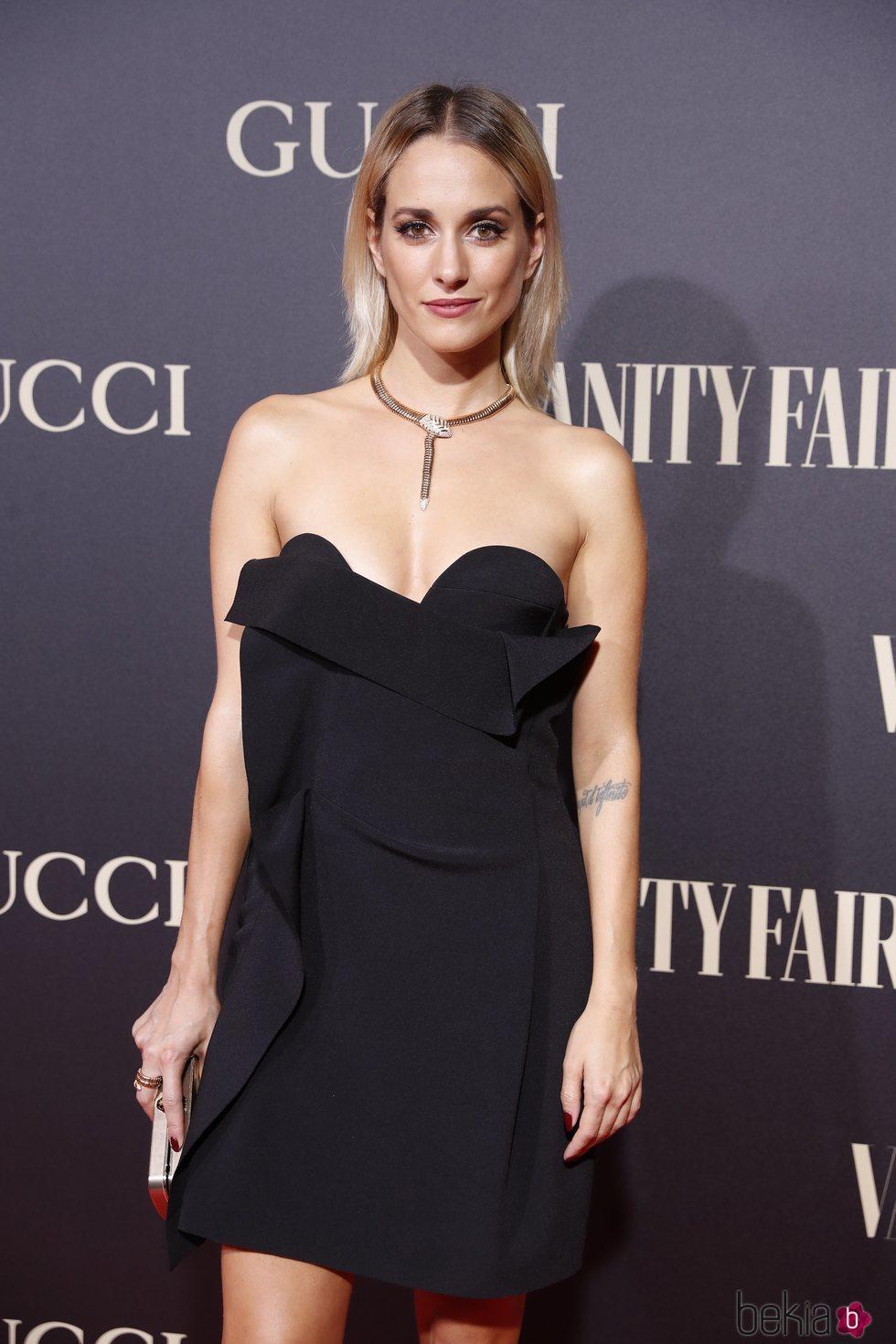 Silvia Alonso en la alfombra de la fiesta de Vanity Fair 2018