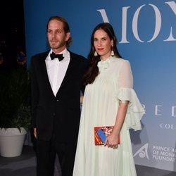Andrea Casiraghi y Tatiana Santo Domingo en la Gala Global Ocean 2018 de la Fundación Príncipe Alberto II de Mónaco