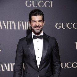 Miguel Ángel Muñoz en la alfombra de la fiesta de Vanity Fair 2018