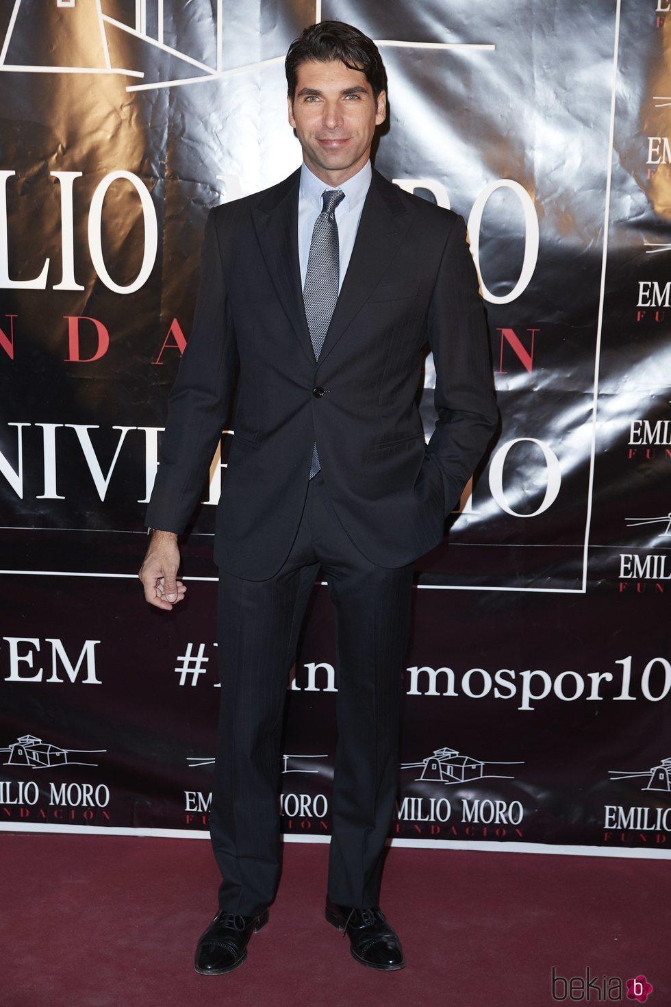 Cayetano Rivera en la fiesta del décimo aniversario de la Fundación Emilio Moro