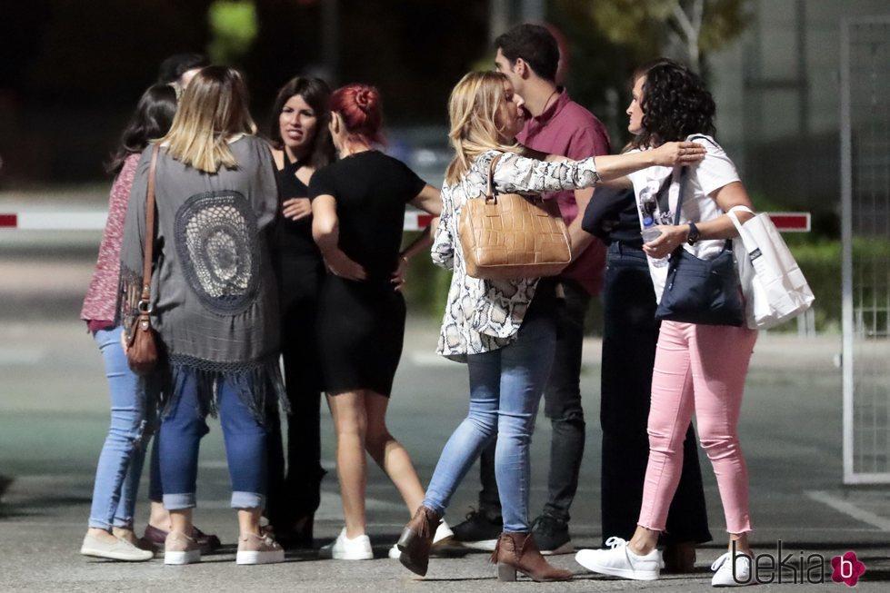 Chabelita Pantoja con sus amigas y con Dulce tras su expulsión en la tercera gala de 'Gran Hermano VIP 6'
