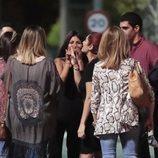 Chabelita Pantoja con sus amigos tras su expulsión en la tercera gala de 'Gran Hermano VIP 6'