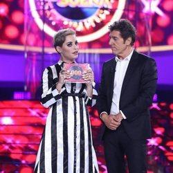 Soraya Arnelas, ganadora de la primera gala de 'Tu cara me suena 7'