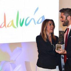 Roberto Leal recoge el premio de 'Embajador de Andalucía'
