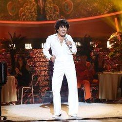 José Corbacho imitando a El Puma en la primera gala de 'Tu cara me suena 7'