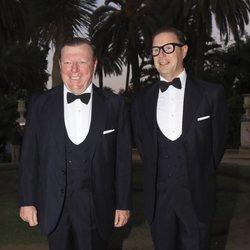 César y Óscar Cadaval en los Premios Escaparate 2018