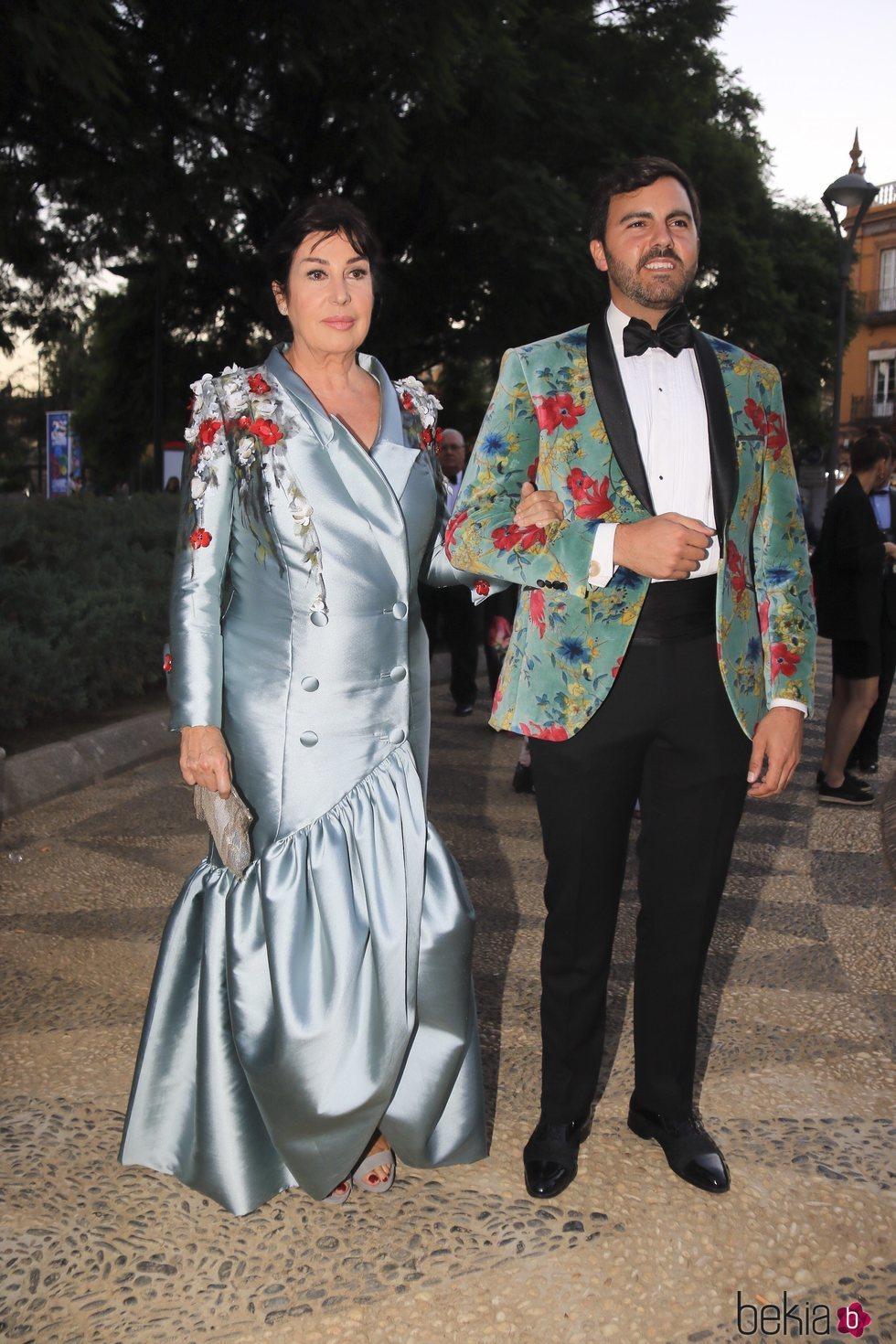 Carmen Martínez Bordiú en los Premios Escaparate 2018