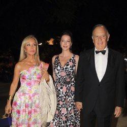 Carmen Lomana, el Marqués de Griñón y Esther Doña en los Premios Escaparate 2018