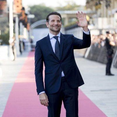Bradley Cooper durante el Festival de San Sebastián 2018