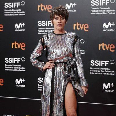 María León durante el Festival de San Sebastián 2018