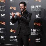 Miguel Ángel Muñoz durante el Festival de San Sebastián 2018