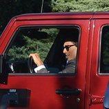 Brad Falchuk llegando a su boda con Gwyneth Paltrow