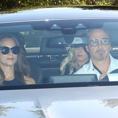 Robert Downey Jr en la boda de Gwyneth Paltrow y Brad Falchuk