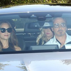 Robert Downey Jr en la boda de Gwyneth Paltrow y Brad Falchuk