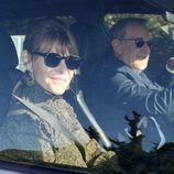 Steven Spielberg y su esposa, Kate Capshaw, en la boda de Gwyneth Paltrow y Brad Falchuk