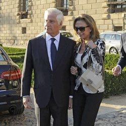 Carlos Fitz-James Stuart y la empresaria Alicia Koplowitz