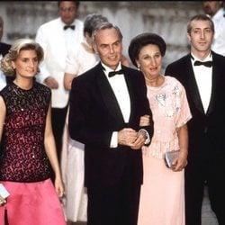 Los Duques de Soria y sus hijos en la boda de Alexia de Grecia y Carlos Morales