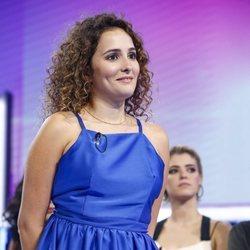 Marilia durante la valoración de la Gala 2 de 'OT 2018'