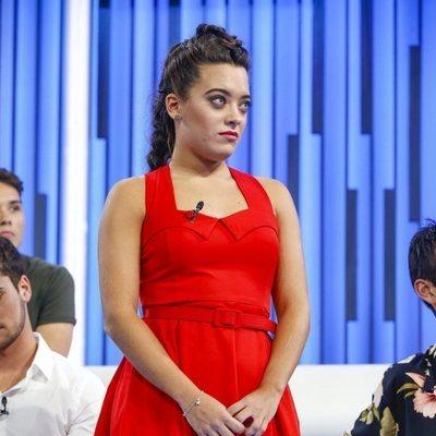 Noelia durante la valoración en la Gala 2 de 'OT 2018'