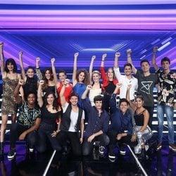 Los concursantes de 'OT 2018' en la Gala 2 del programa