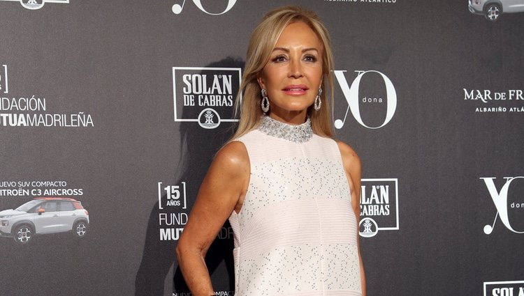 Carmen Lomana en la 13ª edición de los premios Yo Dona Internacional