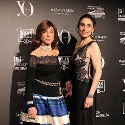 Paloma Segrelles y su madre en la 13ª edición de los premios Yo Dona Internacional