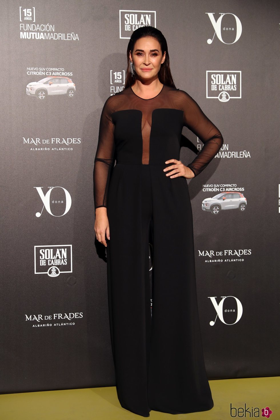 Vicky Martín Berrocal en la 13ª edición de los premios Yo Dona Internacional