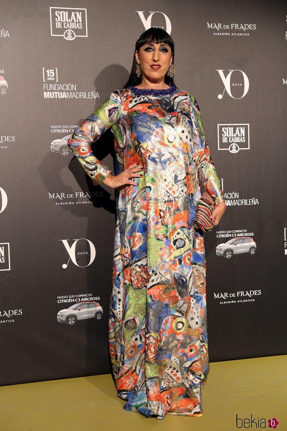 Rossy de Palma en la 13ª edición de los premios Yo Dona Internacional