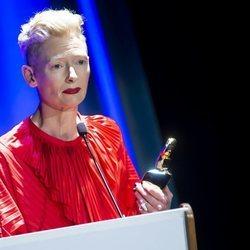 Tilda Swinton en el Festival de Sitges 2018