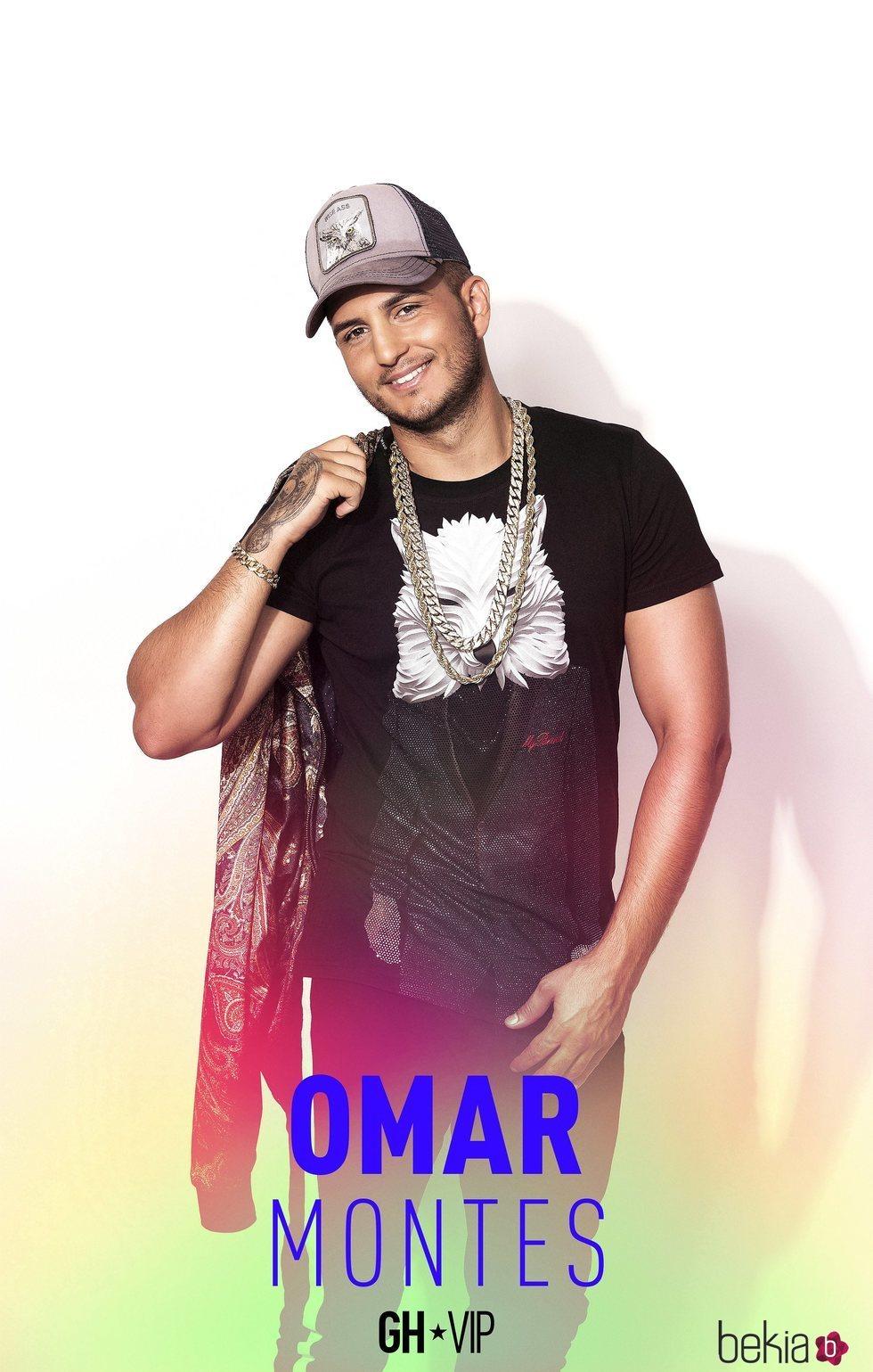 Omar Montes en el posado oficial como concursante de 'GH VIP 6'