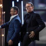 Jorge Javier Vázquez y Carlos Lozano bailando en 'GH VIP 6'