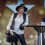 Aramís Fuster en el plató de 'GH VIP 6' tras su expulsión del concurso