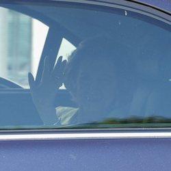 La Reina Sofía llegando a la boda de Fernando Fitz James-Stuart con Sofía Palazuelo